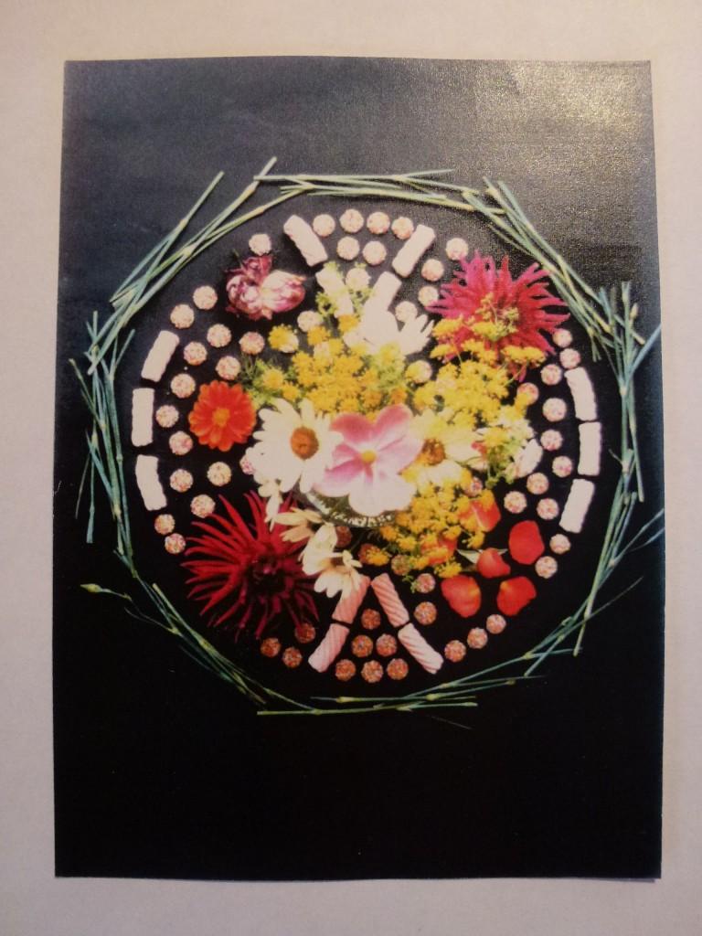 FlowerSweetsRoundMandala