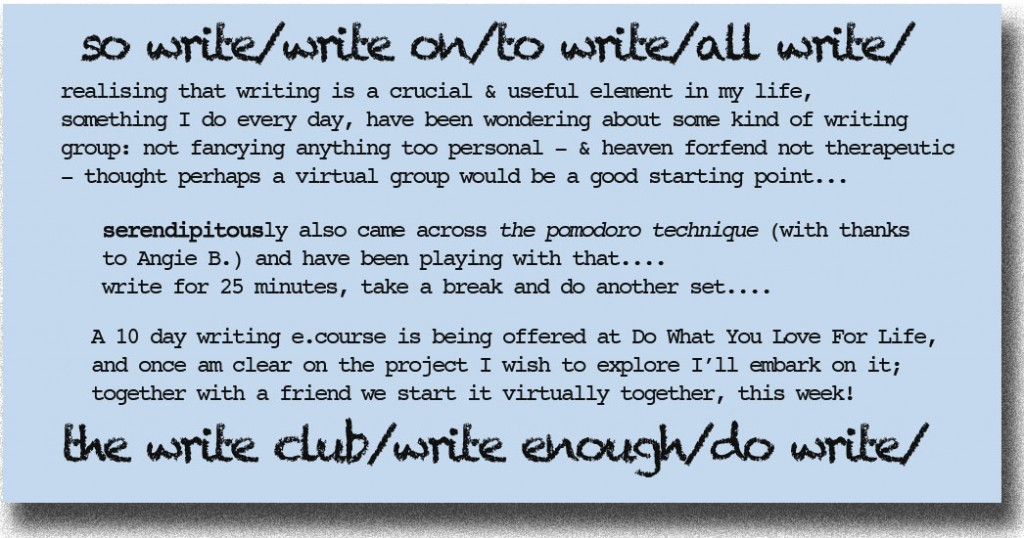 so write